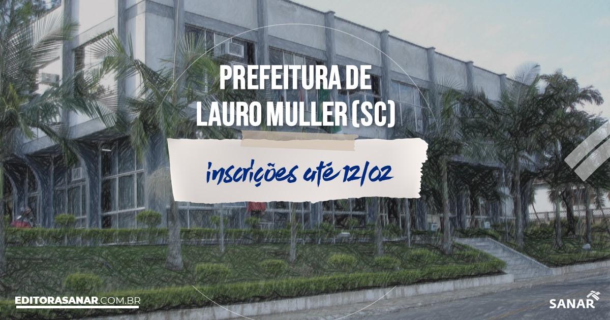 Concurso de Lauro Muller - SC: vagas na Saúde para fisioterapeutas!