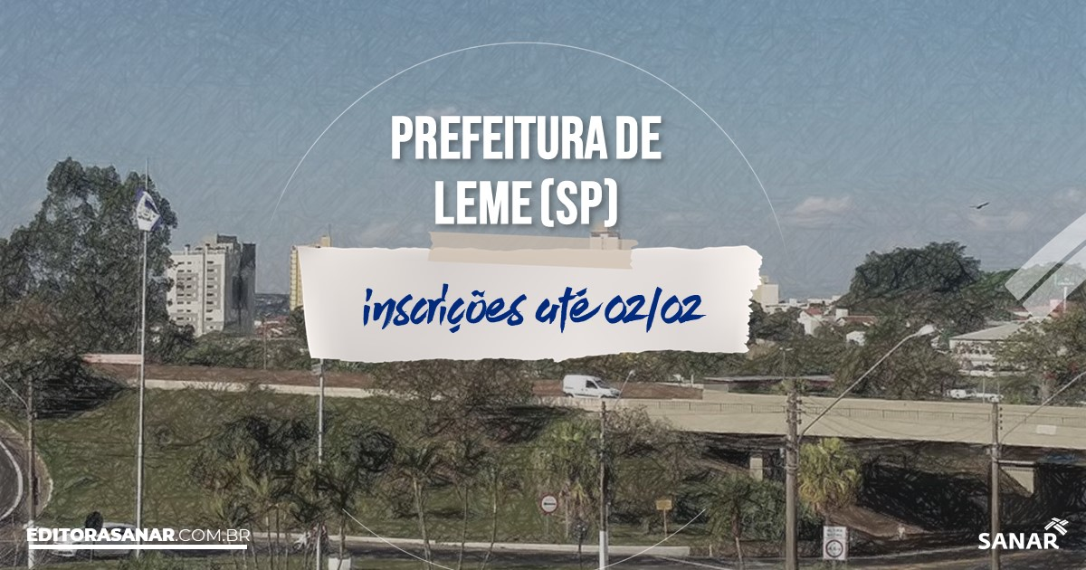 Concurso de Leme - SP: salários na Saúde de até R$10 mil!