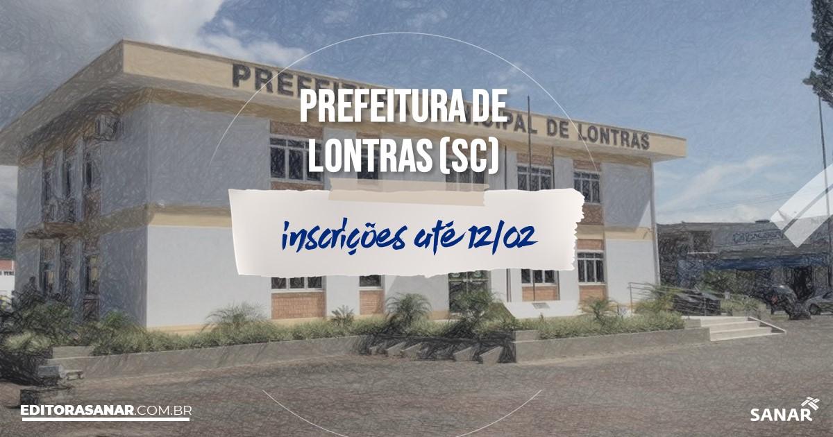 Concurso de Lontras - SC: salários de até R$7 mil na Saúde!