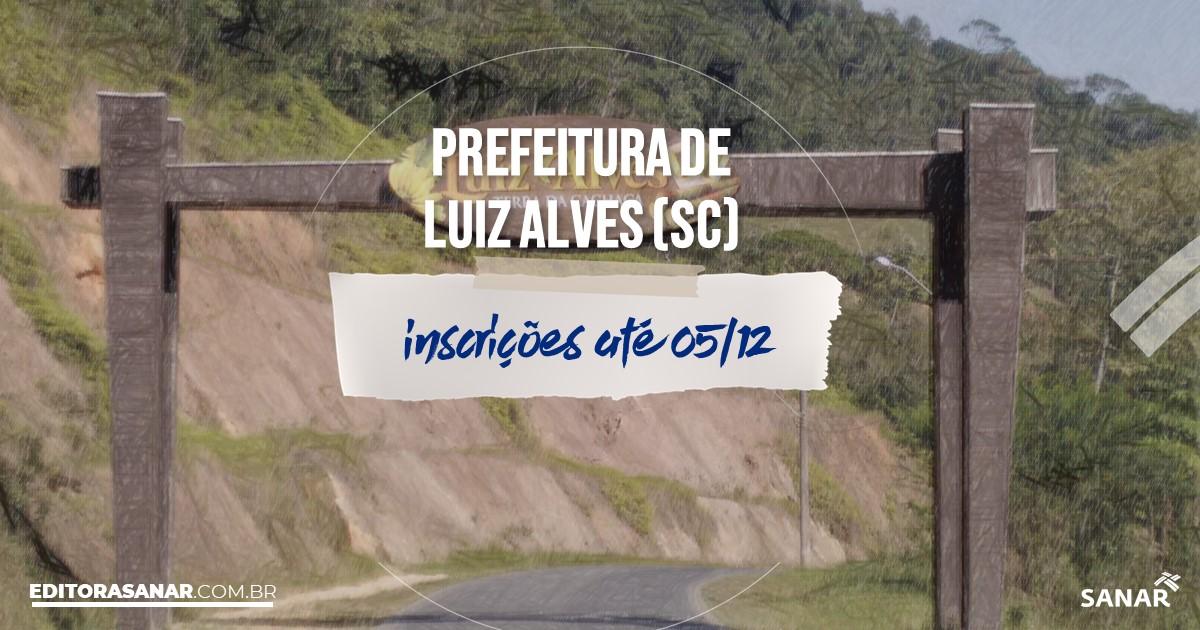 Concurso de Luiz Alves - SC: salários até R$9 mil na Saúde!