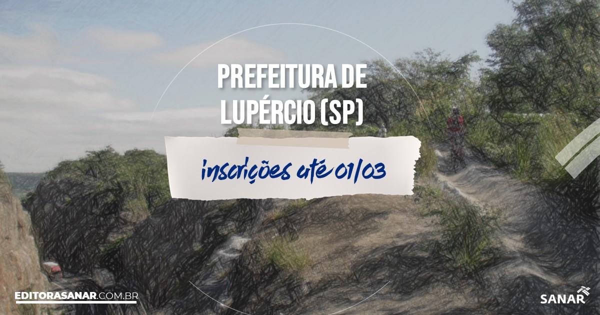 Concurso de Lupércio - SP: salários de até R$9,5 mil na Saúde!