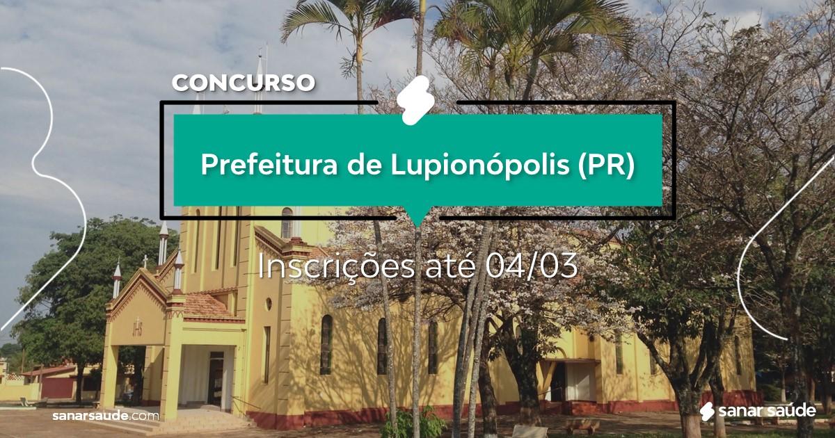 Concurso de Lupionópolis - PR: vaga na Saúde para psicólogo!