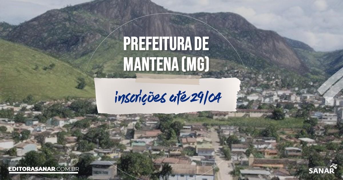 Concurso de Mantena - MG: vagas imediatas na Saúde!