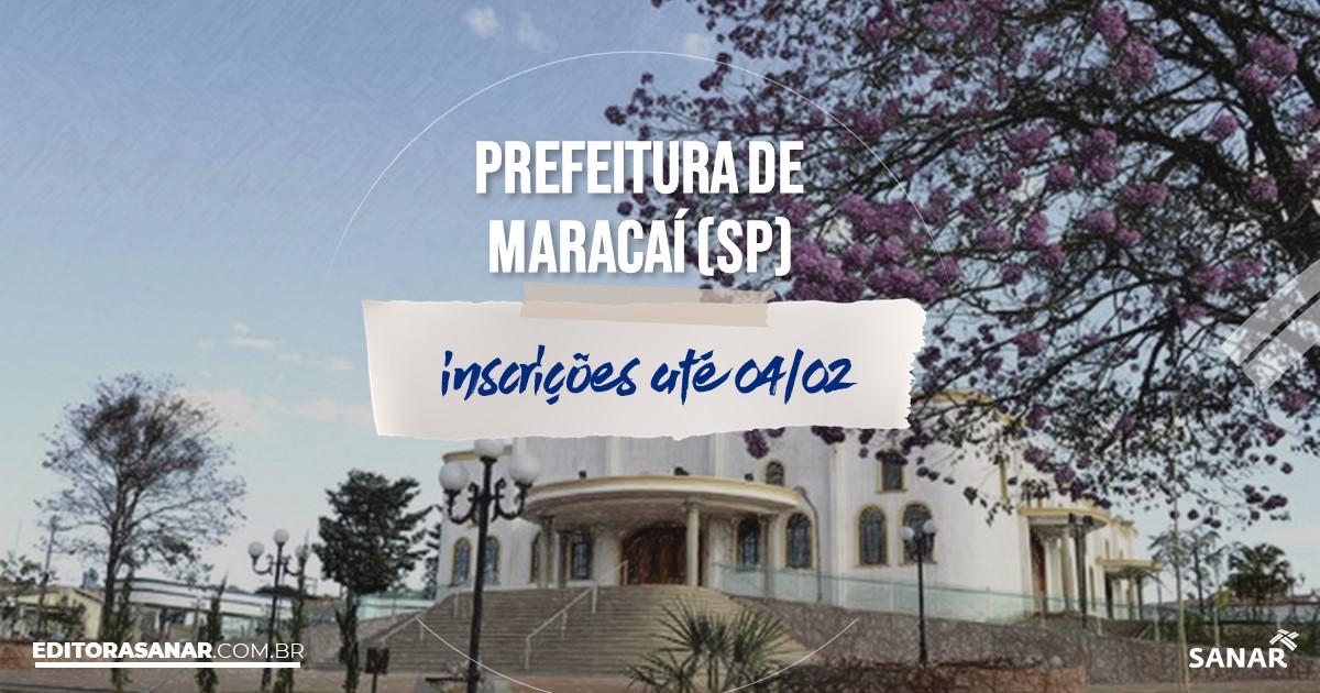Concurso de Maracaí - SP: salários de até R$13 mil na Saúde!