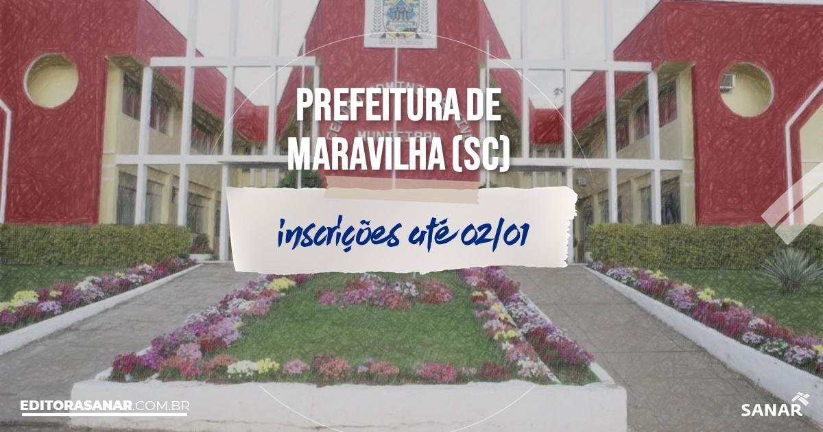 Concurso de Maravilha - SC: salários na Saúde de até R$17 mil!