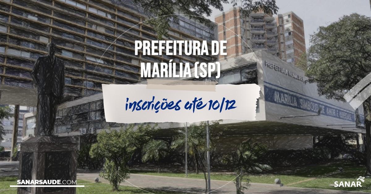 Concurso de Marília - SP: vagas na Saúde!