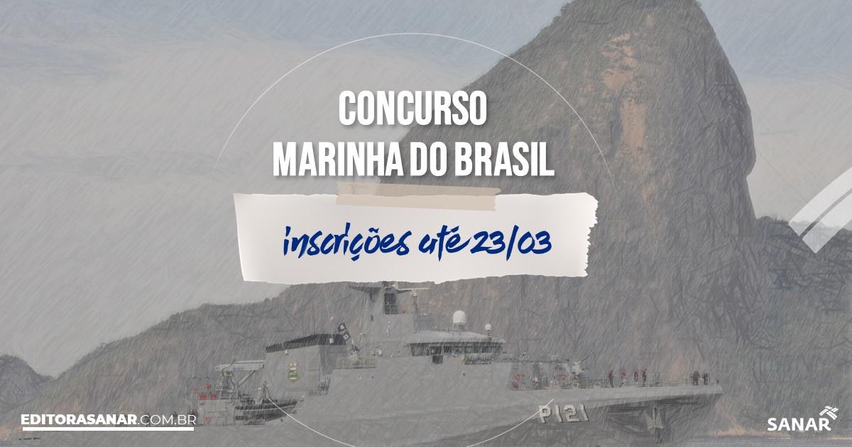 Concurso da Marinha do Brasil: salários iniciais na Saúde de até R$9 mil!