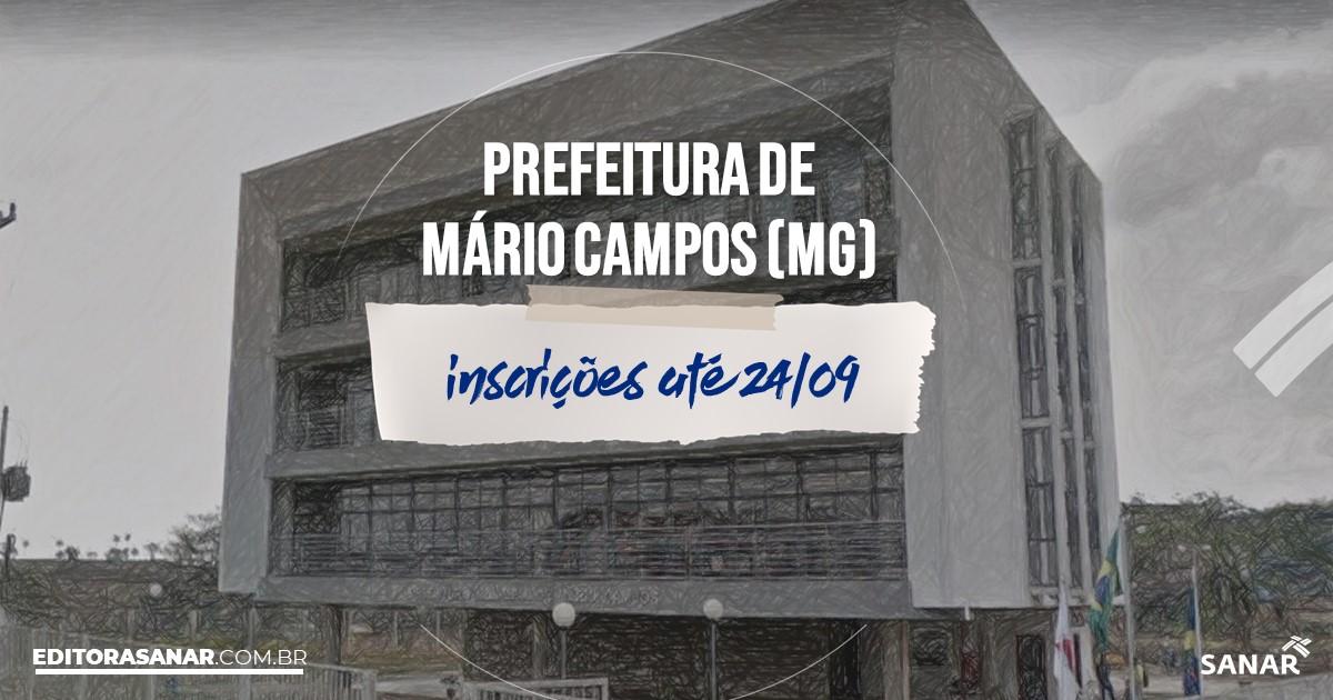 Concurso de Mário Campos - MG: vagas na Saúde!