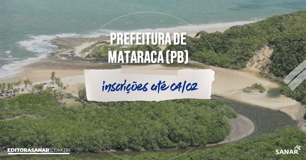 Concurso de Mataraca - PB: salários de até R$11 mil na Saúde!