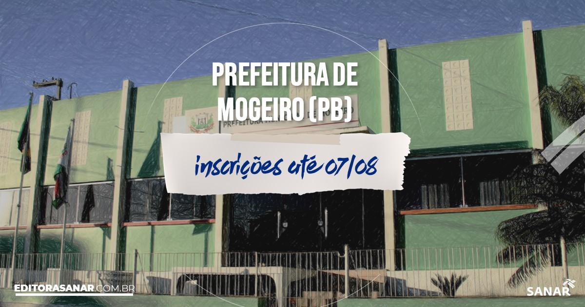 Concurso de Mogeiro - PB: vagas imediatas na Saúde!
