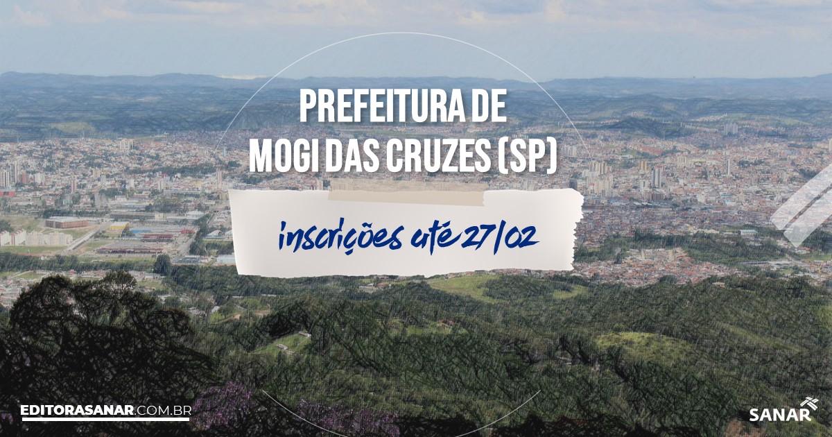 Concurso de Mogi das Cruzes - SP: vagas na Saúde!