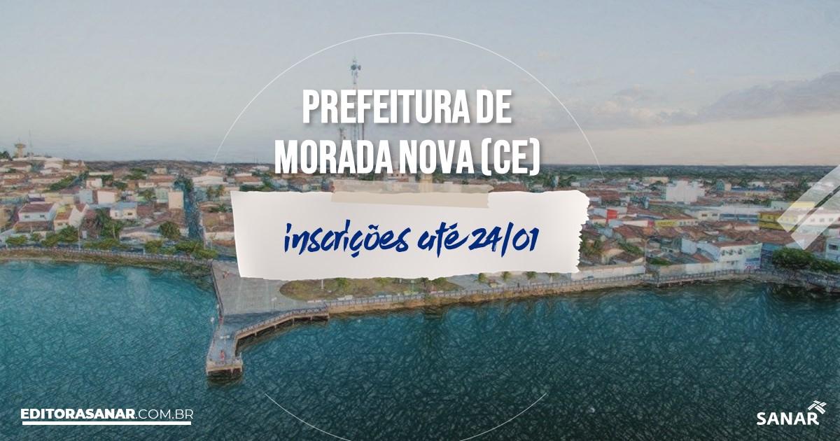 Concurso de Morada Nova - CE: vaga na Saúde para psicólogo!
