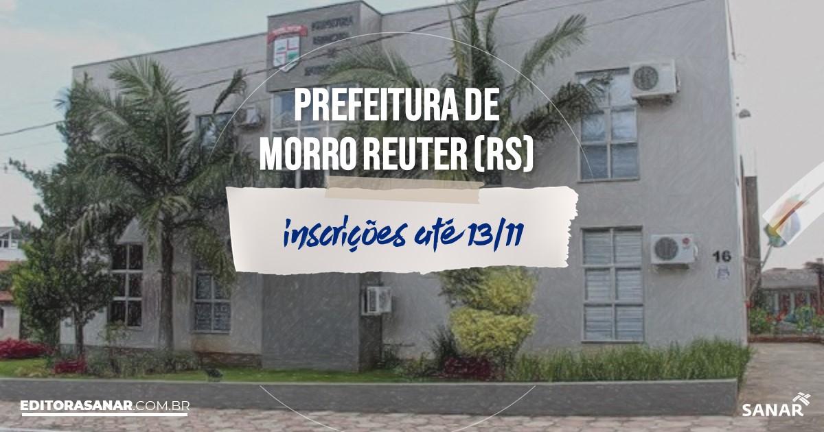 Concurso de Morro Reuter - RS: cargos na Saúde!