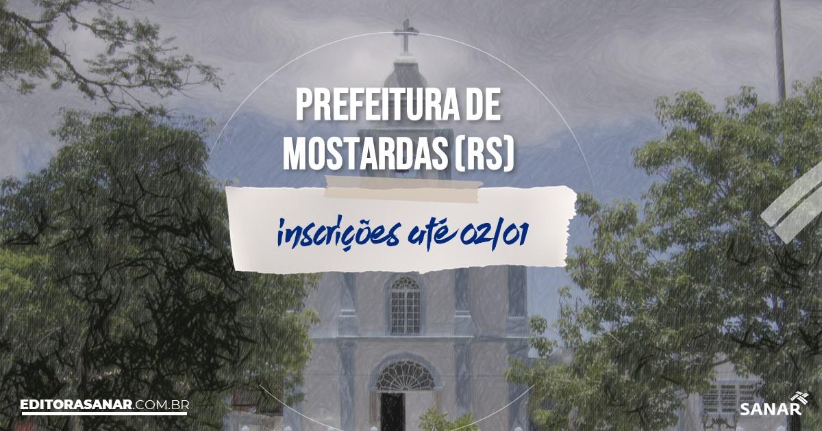 Concurso de Mostardas - RS: salários de até R$15 mil na Saúde!