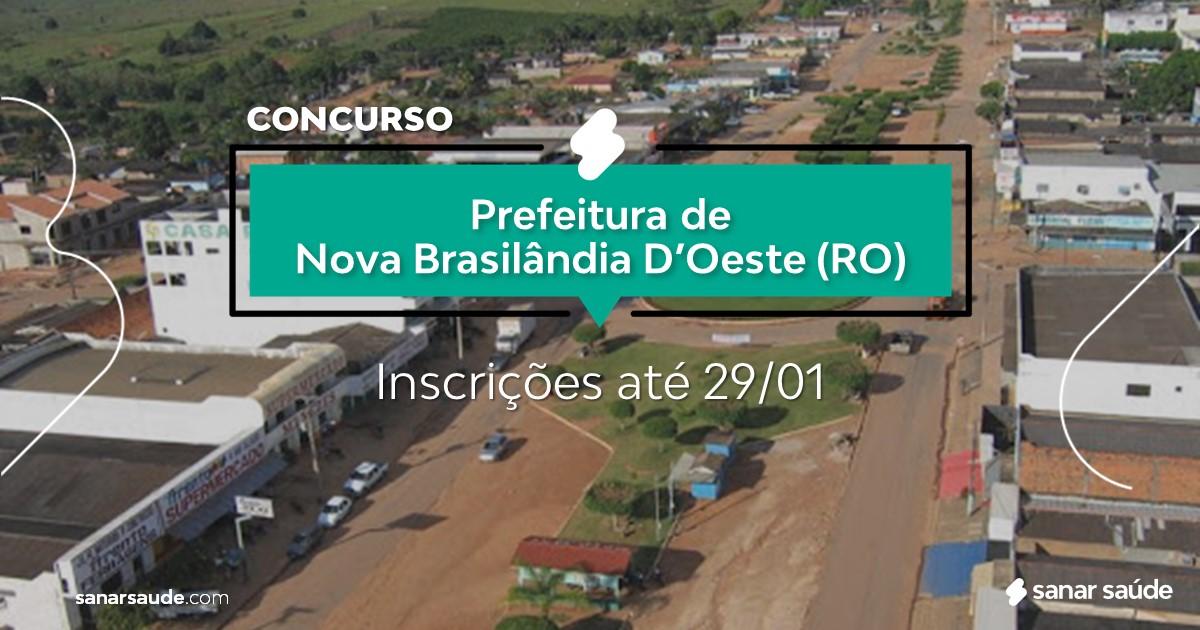 Concurso de Nova Brasilândia D'Oeste - RO:  na Saúde, salários de até R$8,5 mil!