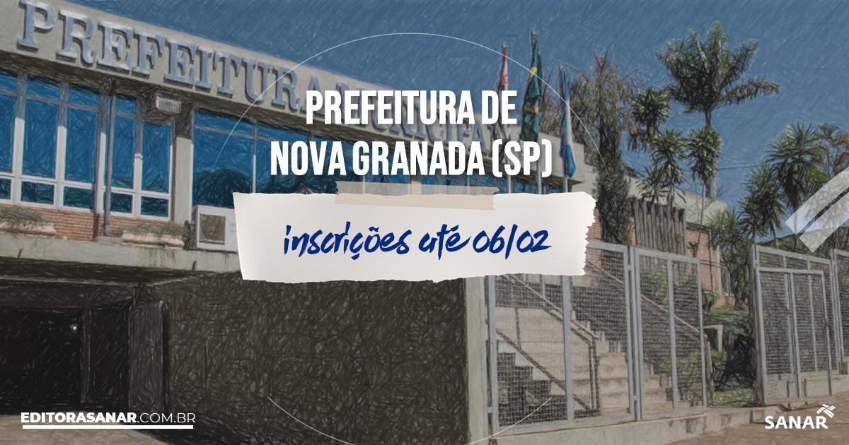 Concurso de Nova Granada - SP: vagas na Saúde!