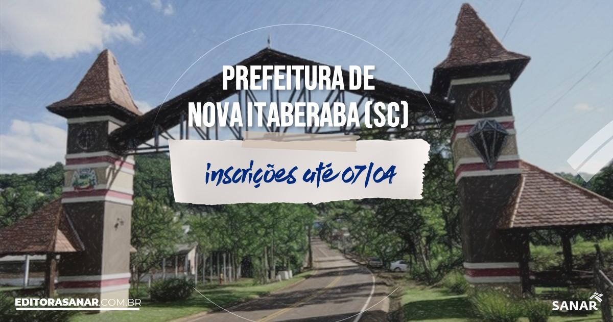 Concurso de Nova Itaberaba - SC: na Saúde, vaga para veterinário!