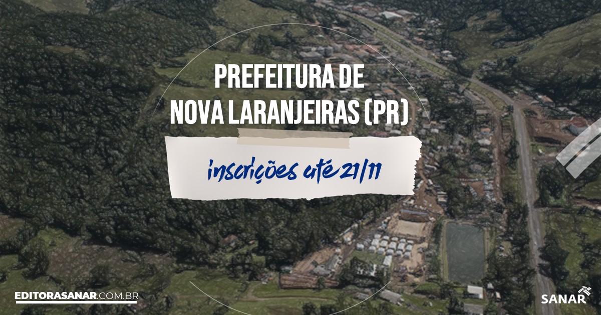Concurso de Nova Laranjeiras - PR: salários na Saúde até R$11 mil!