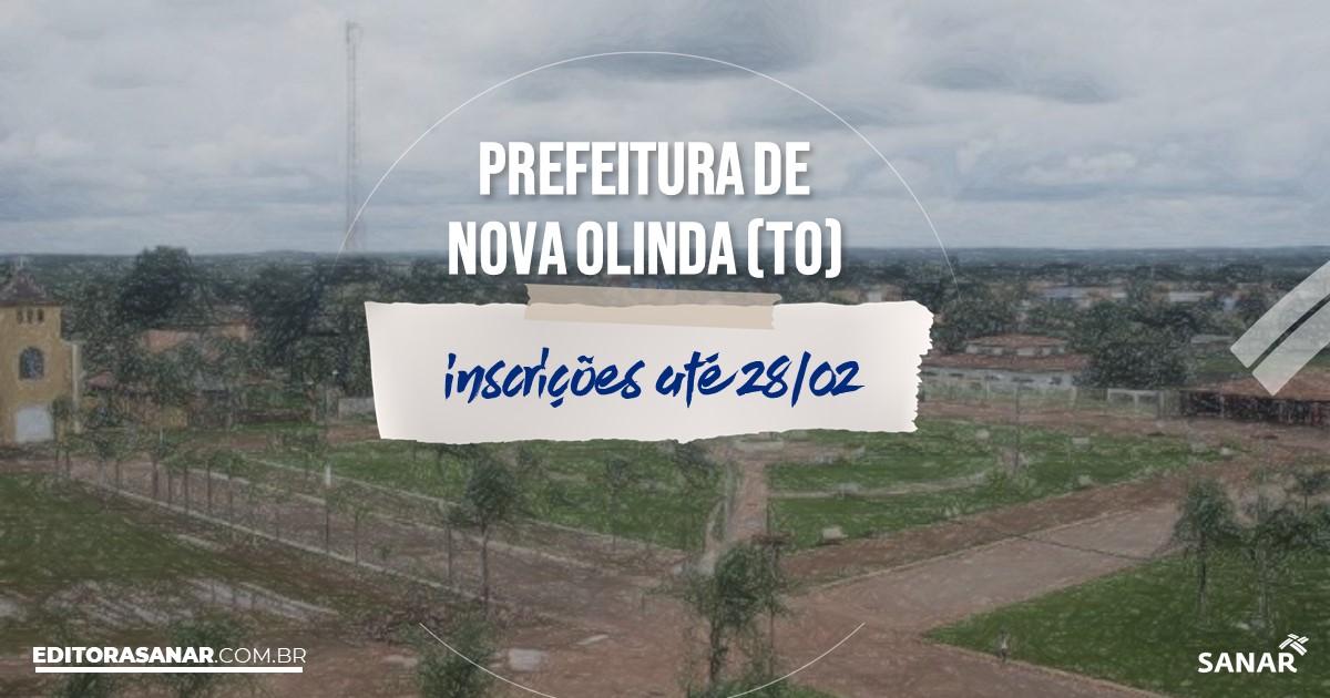 Concurso de Nova Olinda - TO: salários de até R$9 mil na Saúde!