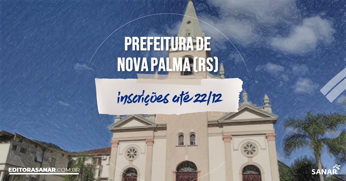 Concurso de Nova Palma - RS: vagas na Saúde!