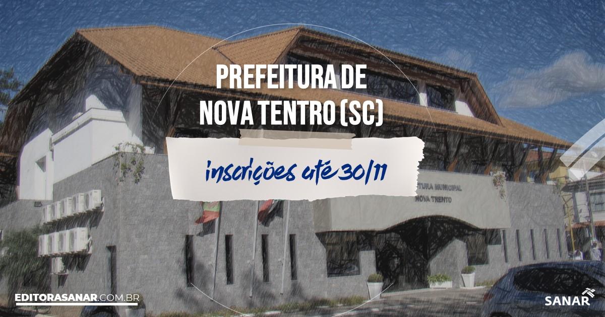 Concurso de Nova Trento - SC: salários na Saúde até R$9 mil!