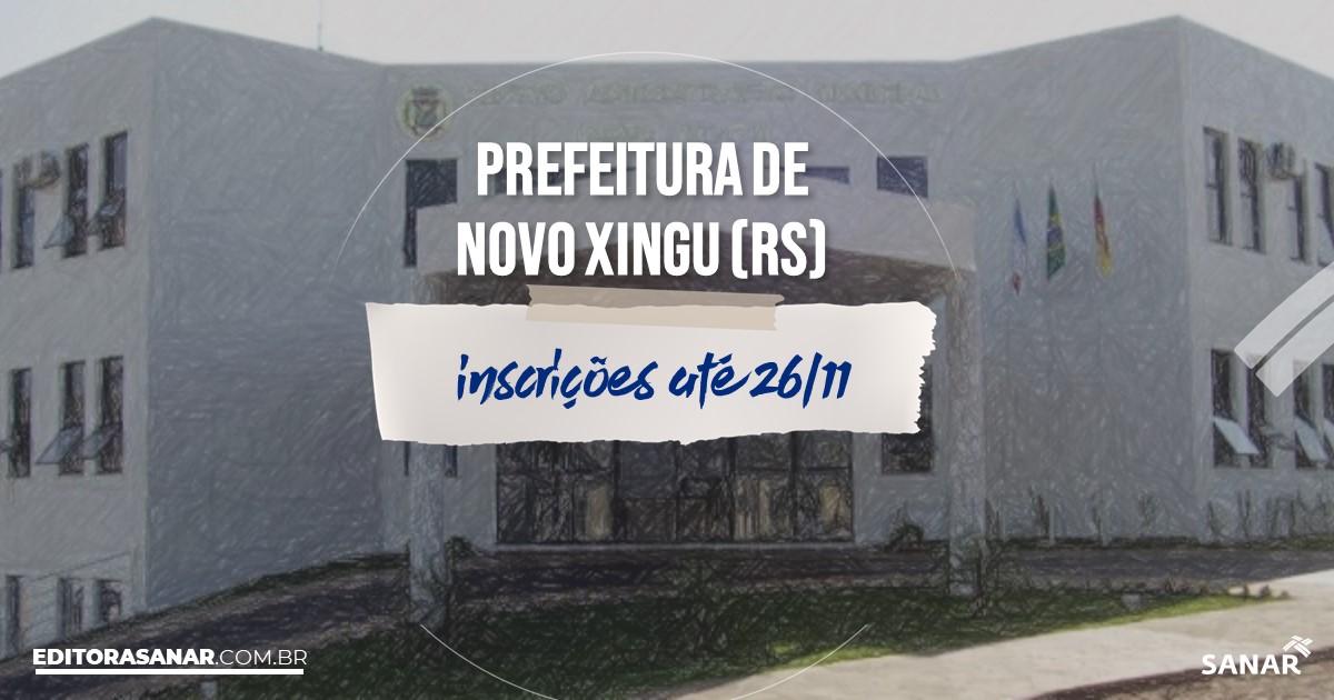 Concurso de Novo Xingu - RS: salários até R$7 mil na Saúde!