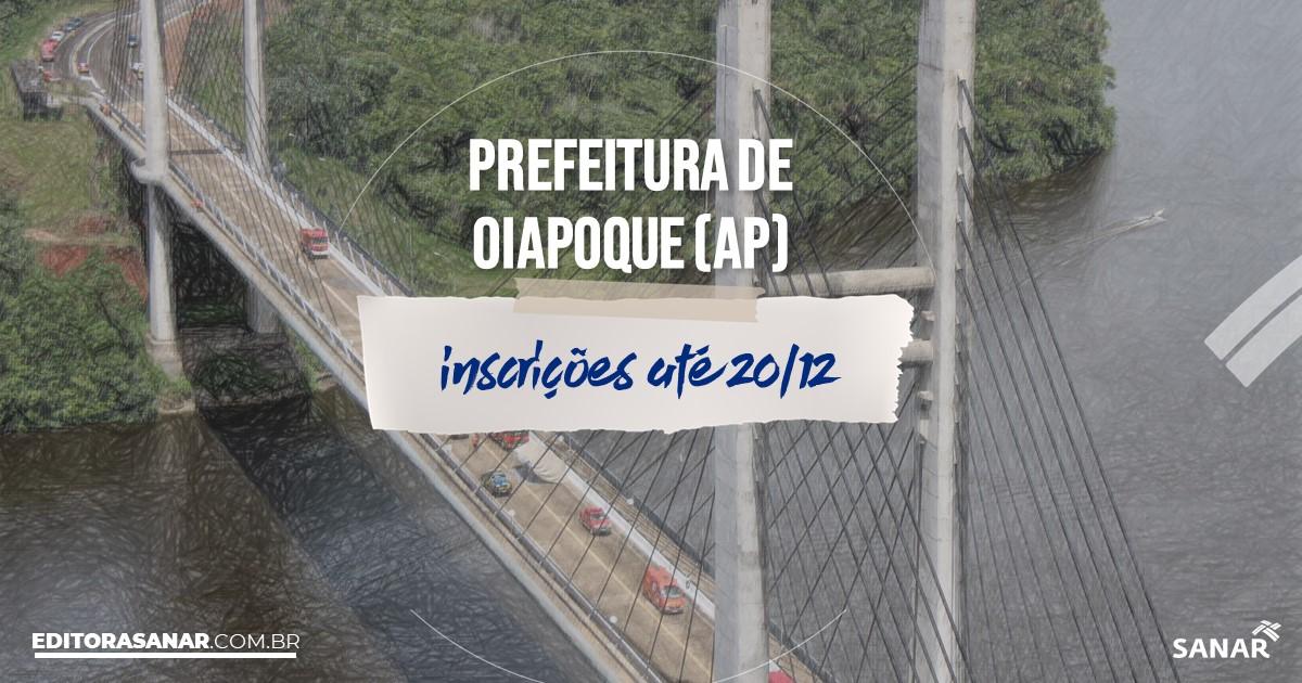 Concurso de Oiapoque - AP: vagas imediatas na Saúde!