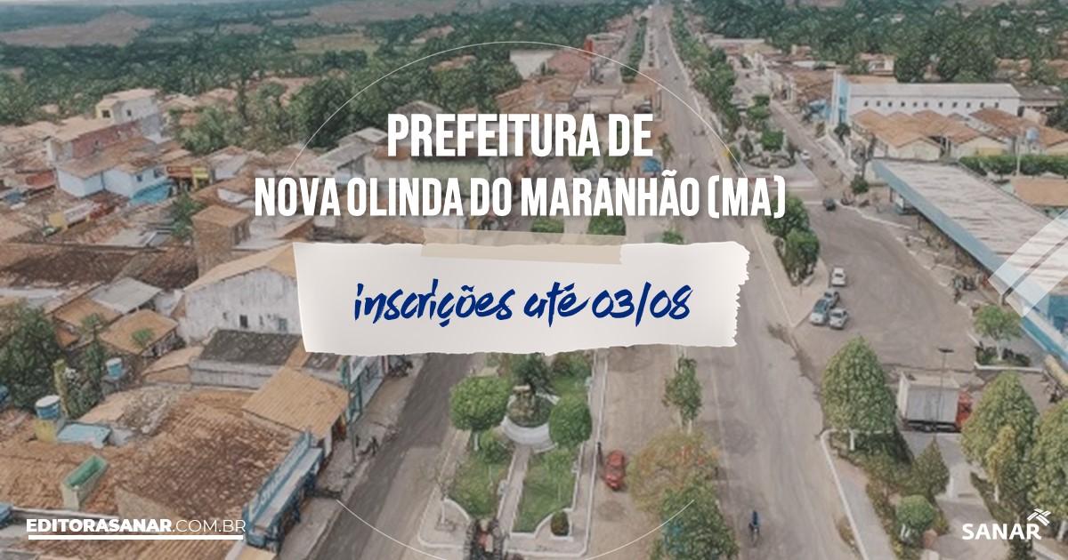 Concurso de Olinda Nova do Maranhão - MA: vagas na Saúde!
