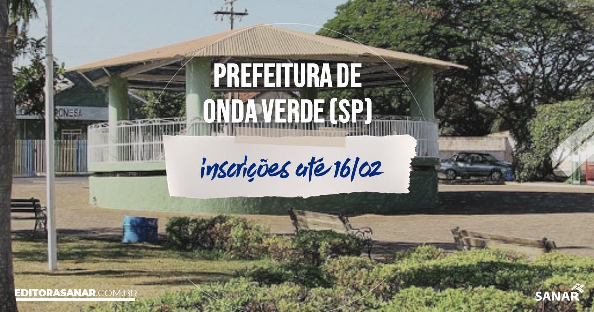 Concurso de Onda Verde - SP: salários na Saúde de até R$8,7 mil!