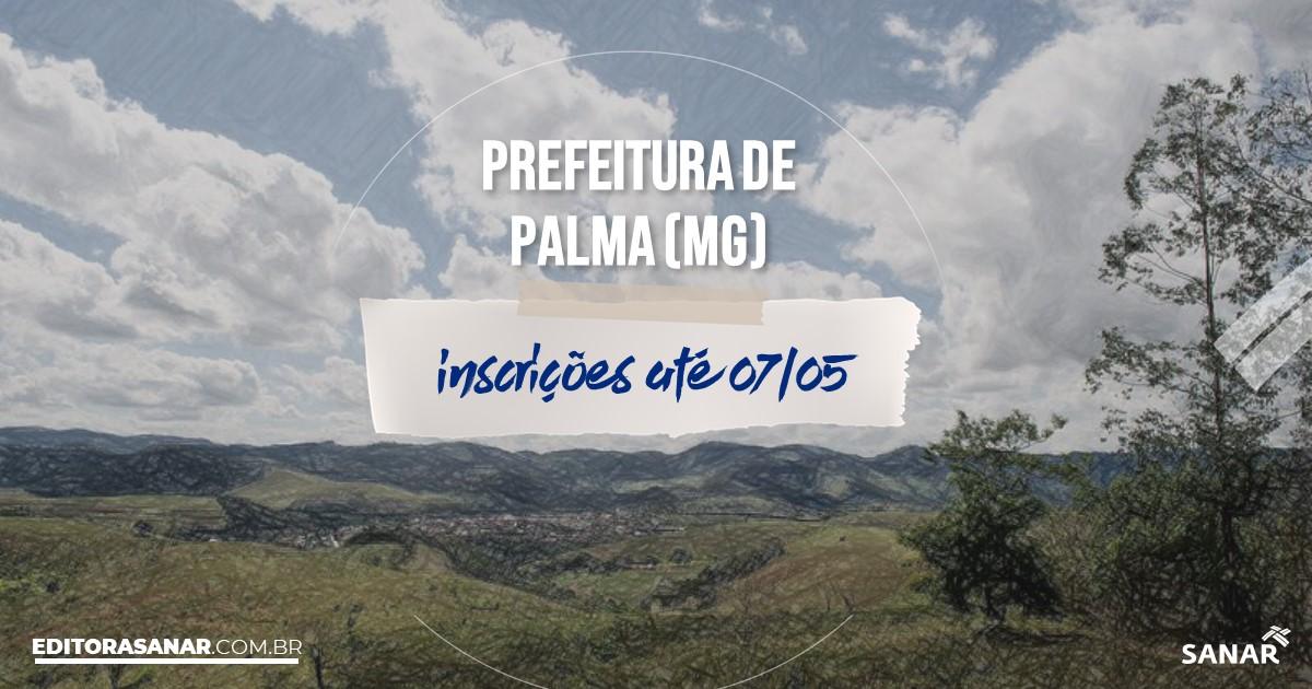 Concurso de Palma - MG: cargos na Saúde!