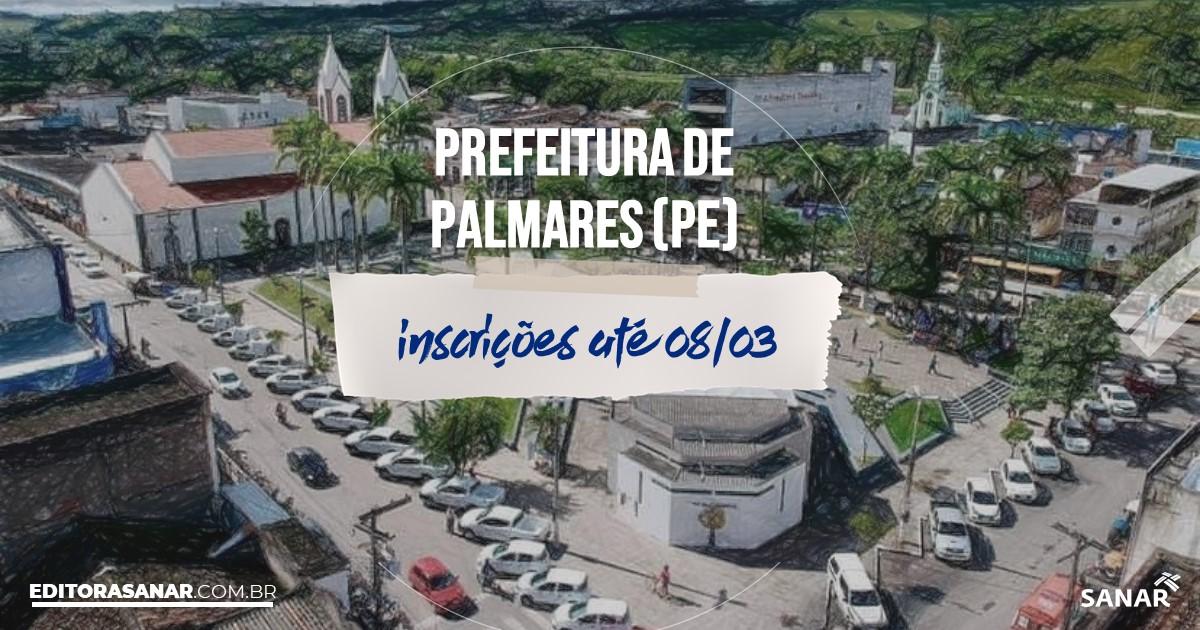Concurso de Palmares - PE: vagas na Saúde!
