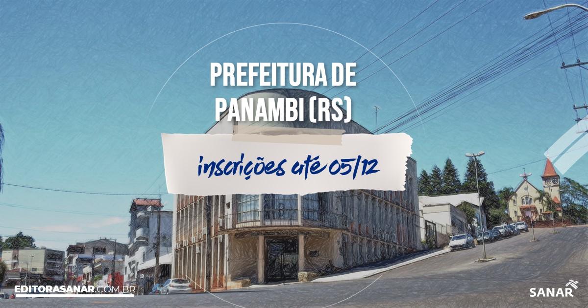 Concurso de Panambi - RS: salários de até R$7 mil na Saúde!