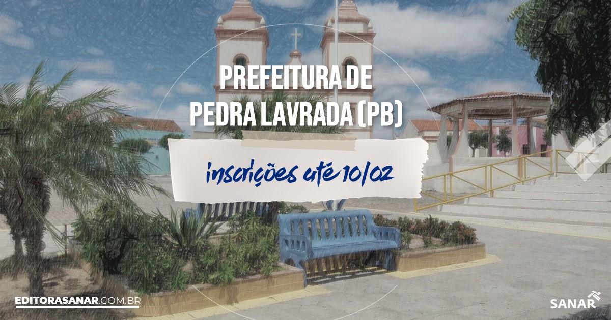 Concurso de Pedra Lavrada - PB: vagas imediatas na Saúde!