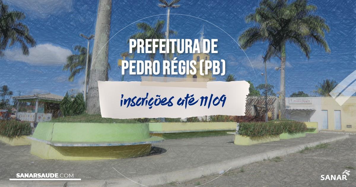 Concurso de Pedro Régis - PB: vagas na Saúde!