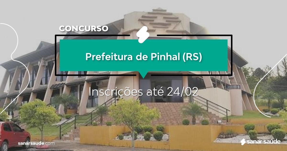 Concurso de Pinhal - RS: vaga na Saúde para fisioterapeuta!