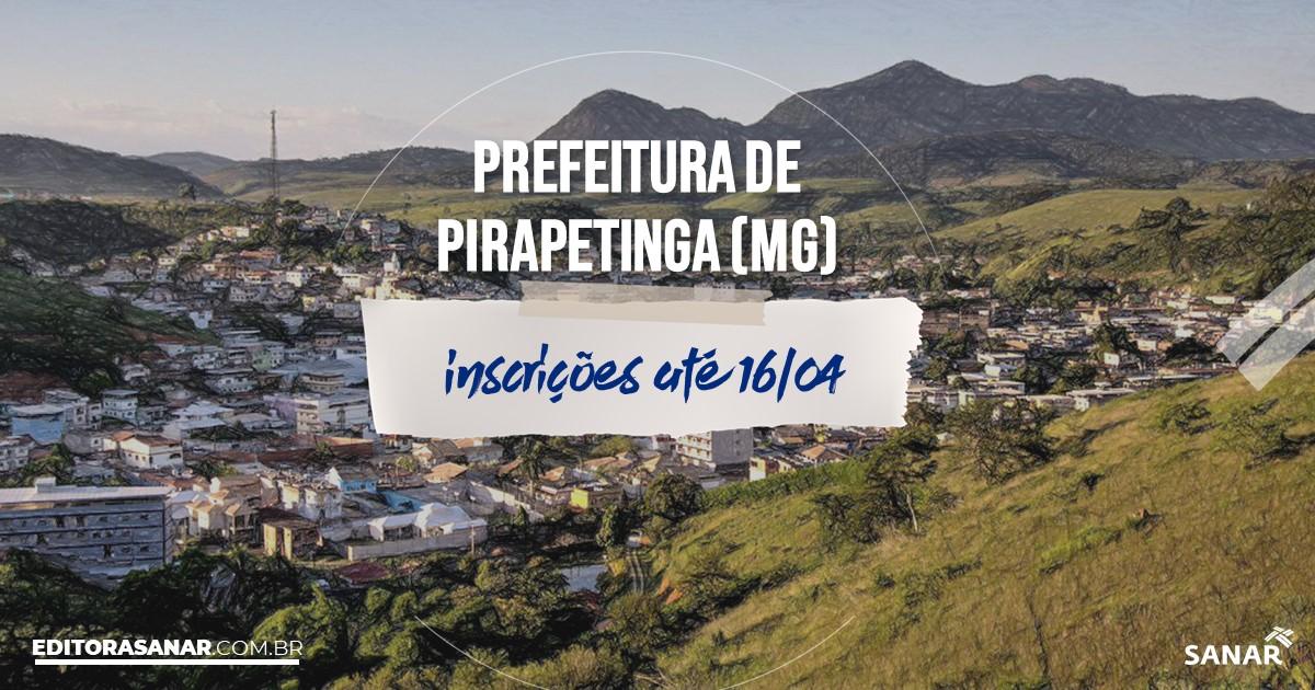 Concurso de Pirapetinga - MG: vaga na Saúde para nutricionista!