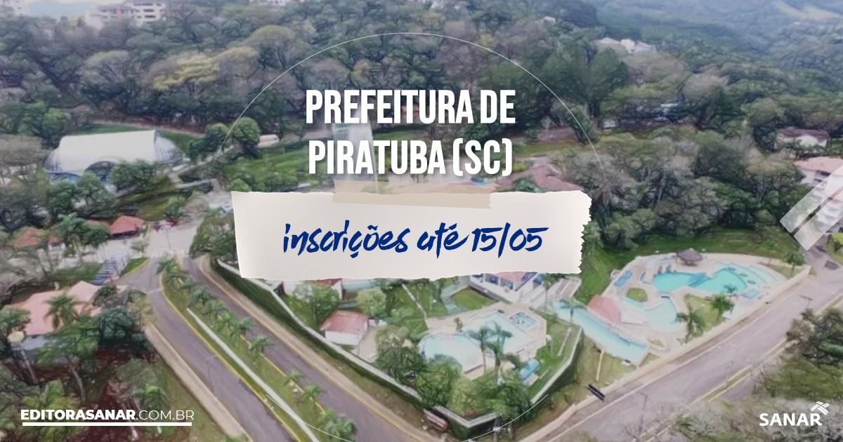 Concurso de Piratuba - SC: salários de até R$10,4 mil na Saúde!