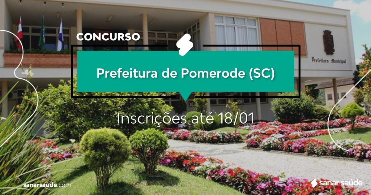 Concurso de Pomerode - SC: salários de até R$15 mil na Saúde!