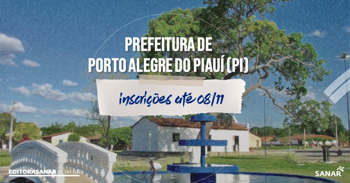 Concurso de Porto Alegre do Piauí - PI: vagas imediatas na Saúde!