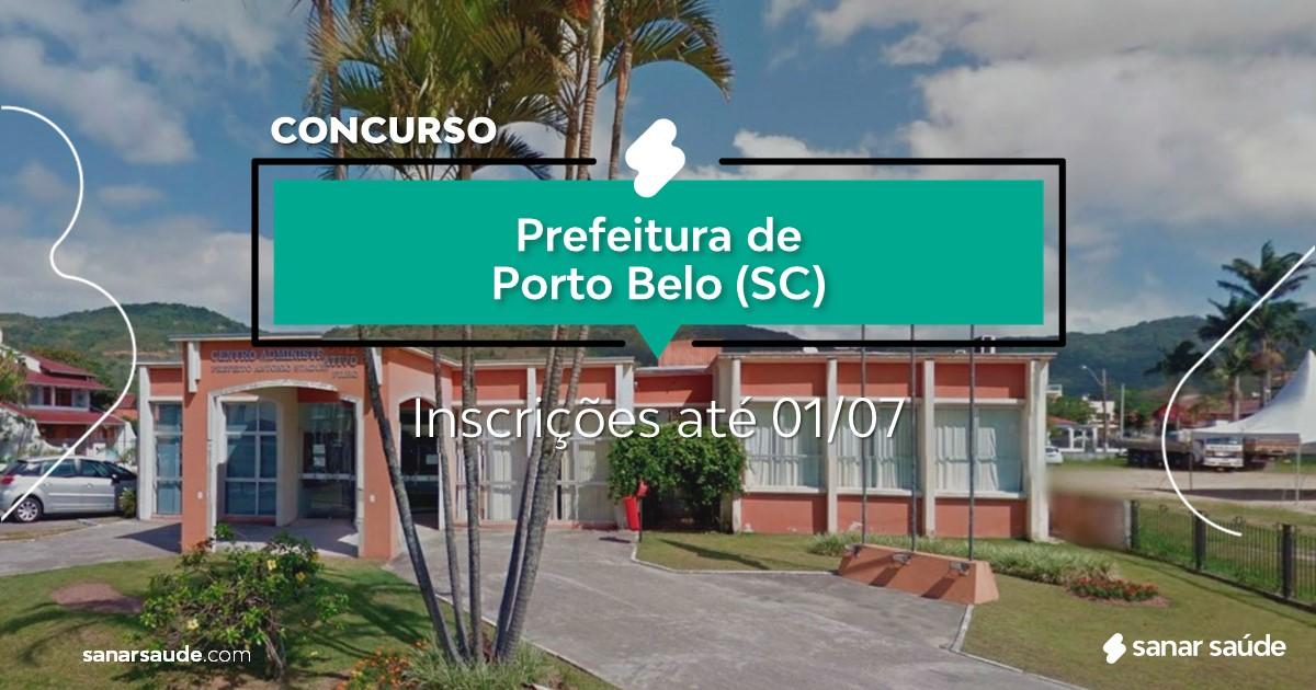 Concurso de Porto Belo - SC: salários até R$12 mil na Saúde!