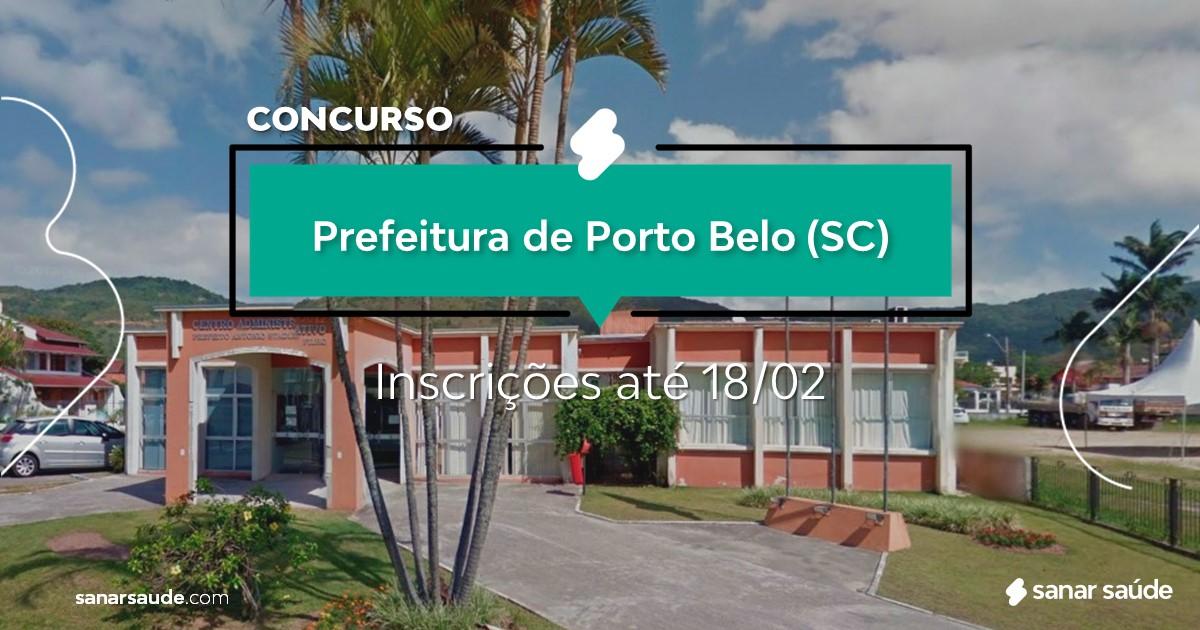 Concurso de Porto Belo - SC: salários de até R$12 mil na Saúde!