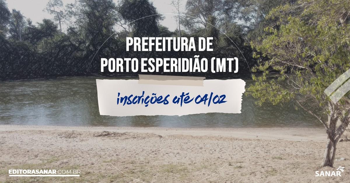 Concurso de Porto Esperidião - MT: na Saúde, salários de até R$7 mil!