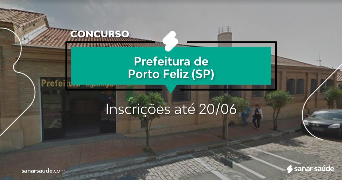 Concurso de Porto Feliz - SP: vagas na Saúde para psicólogos!
