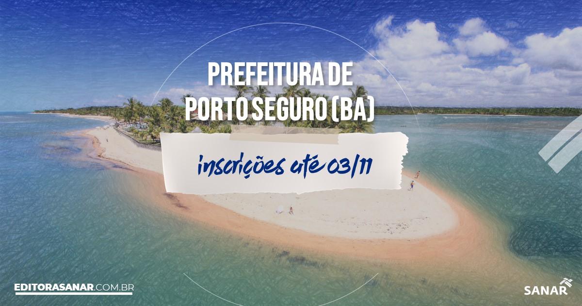 Concurso de Porto Seguro - BA: salários na Saúde até R$8 mil!
