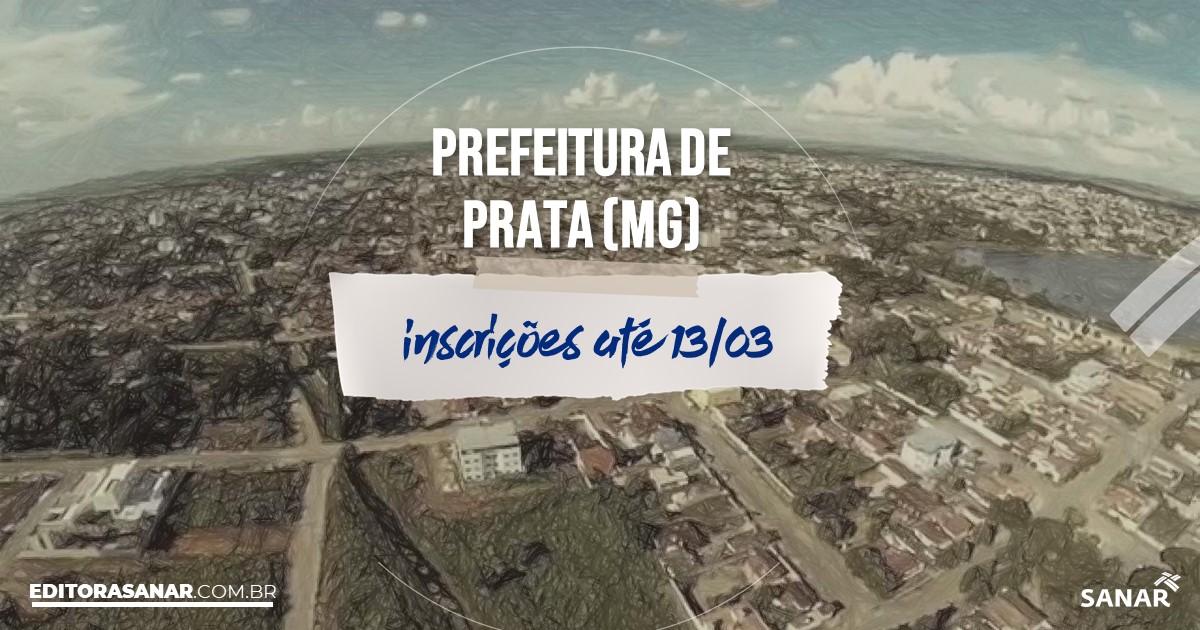 Concurso de Prata - MG: salários na Saúde de até R$14 mil!
