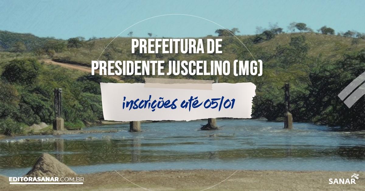 Concurso de Presidente Juscelino - MG: vagas na Saúde!