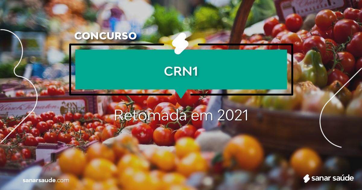 Concurso do CRN1: previsão de retomada para 2021!
