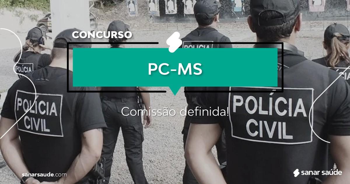 Concurso PC-MS: comissão organizadora formada!