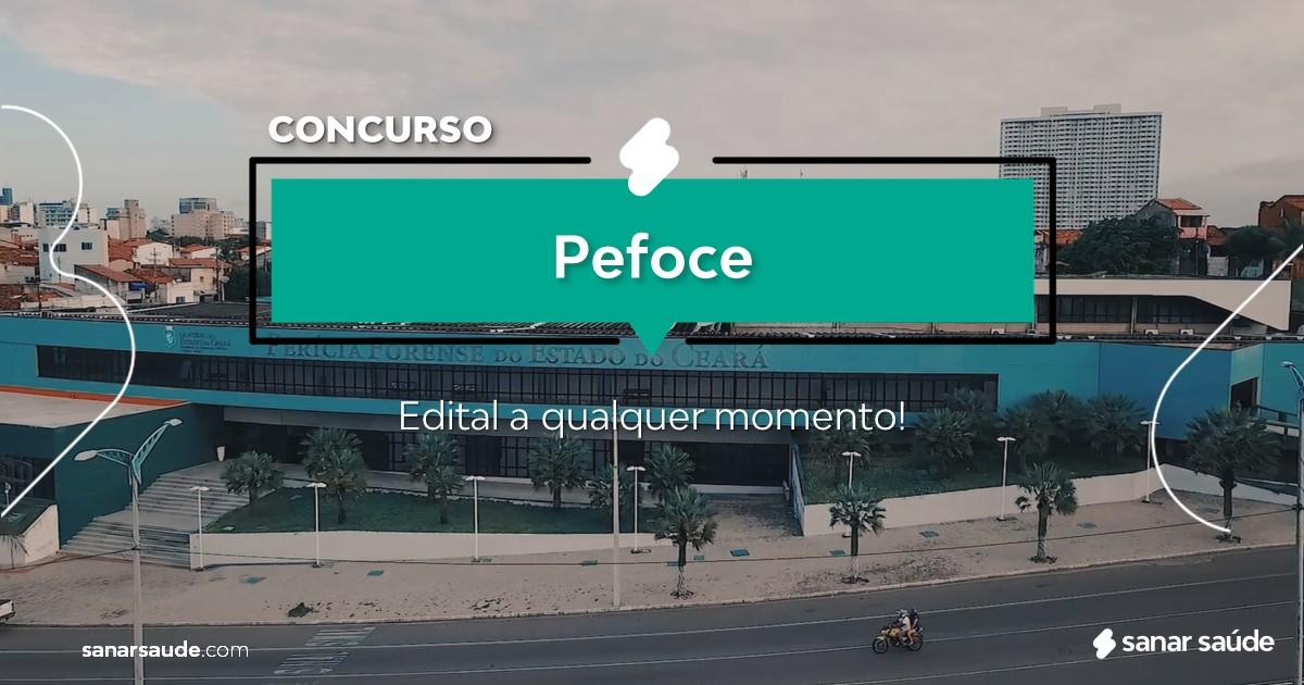 Concurso Pefoce: edital com cargos na Saúde em breve!