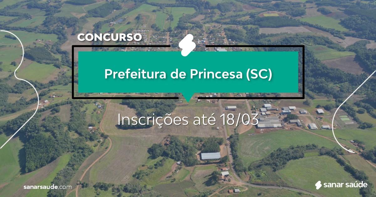 Concurso de Princesa - SC: na Saúde, vagas para psicólogos!